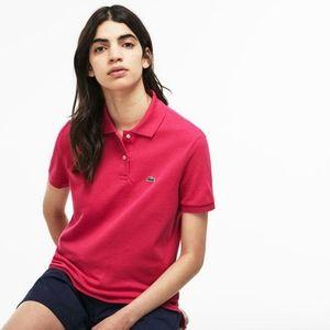 Lacoste Women's Pink Polo shirt